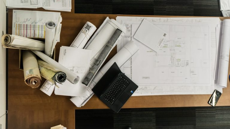 Architecture paper roll