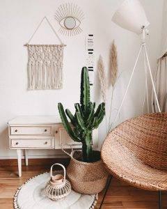 bohemian furniture and decor