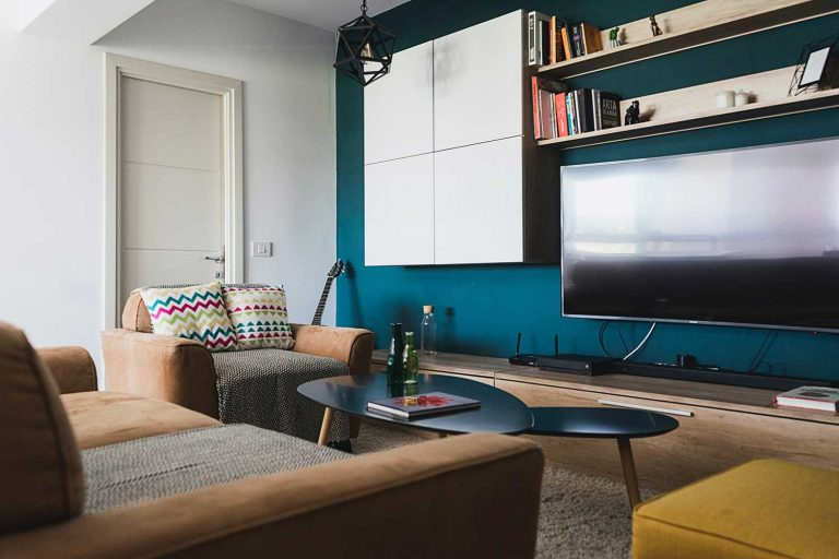 modern small living room example