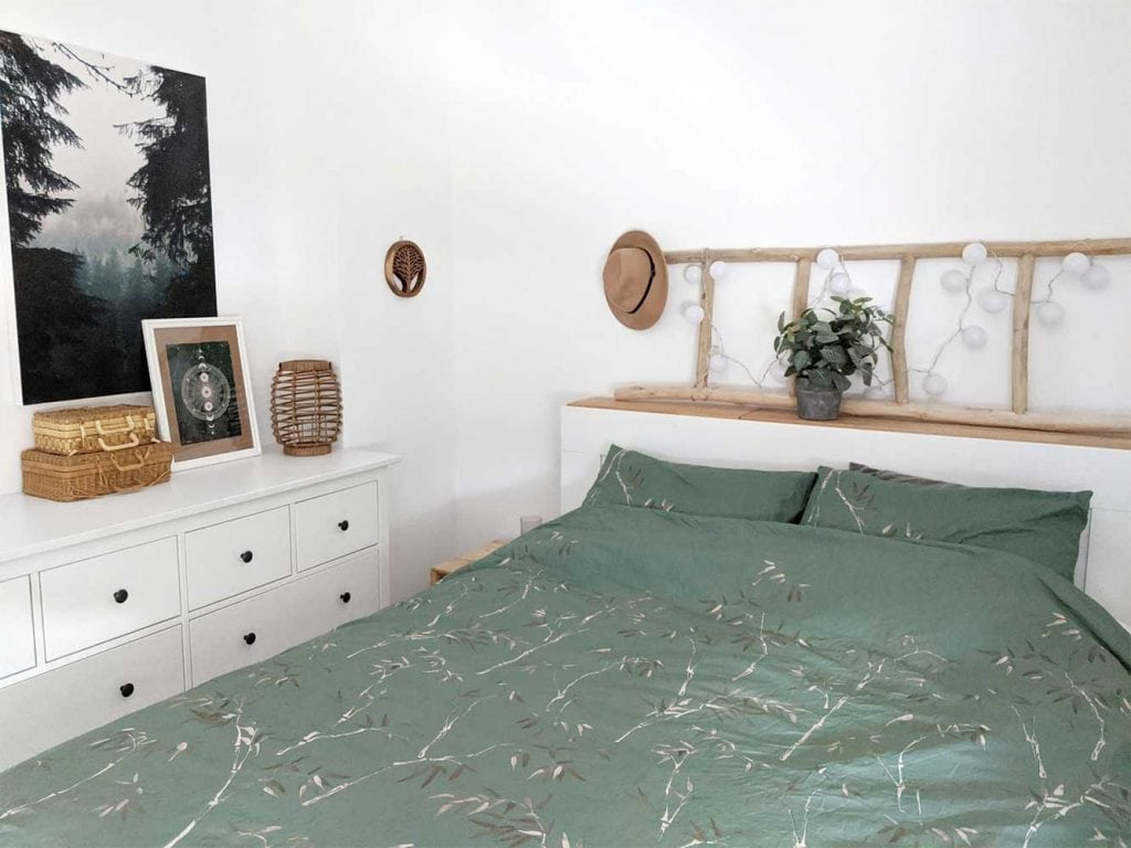 small boho bedroom design