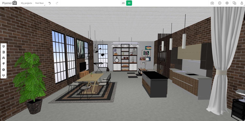 Planner 5D best floor plan software