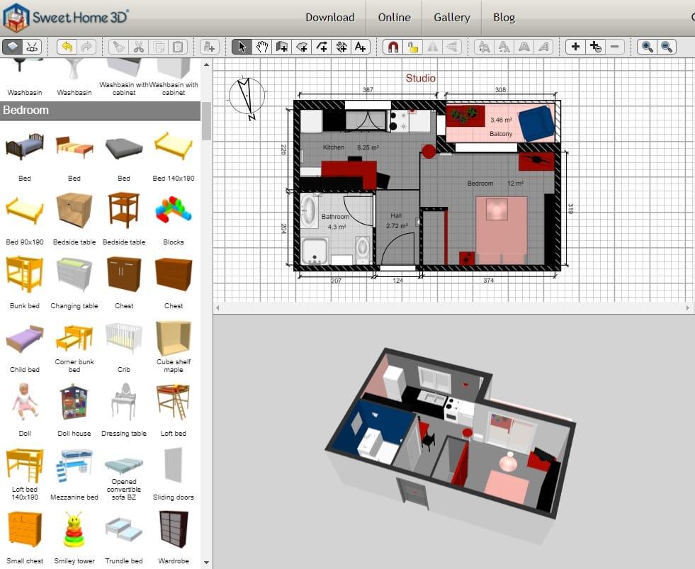 online room design program