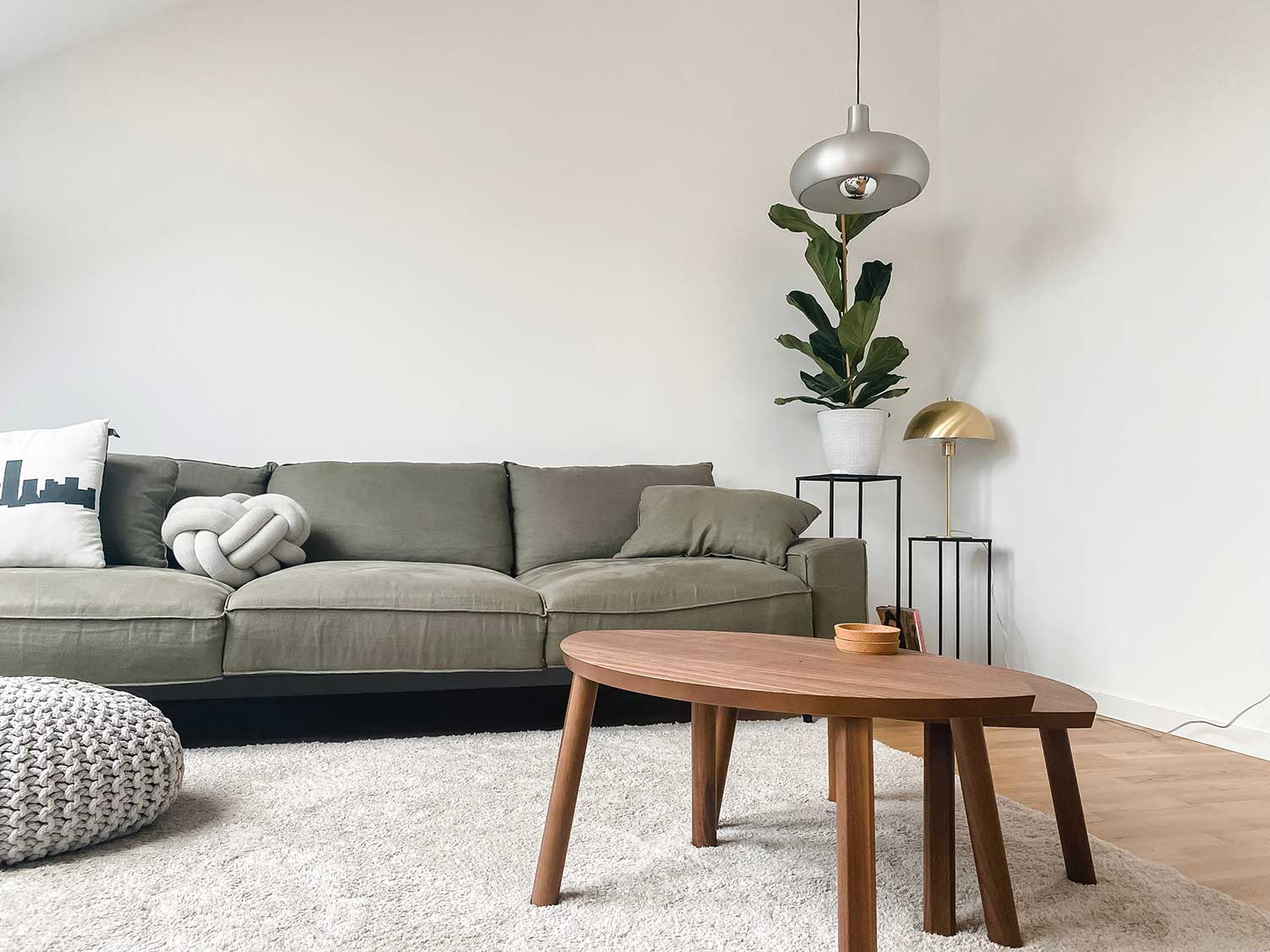 coffee table placement for furniture arrangement