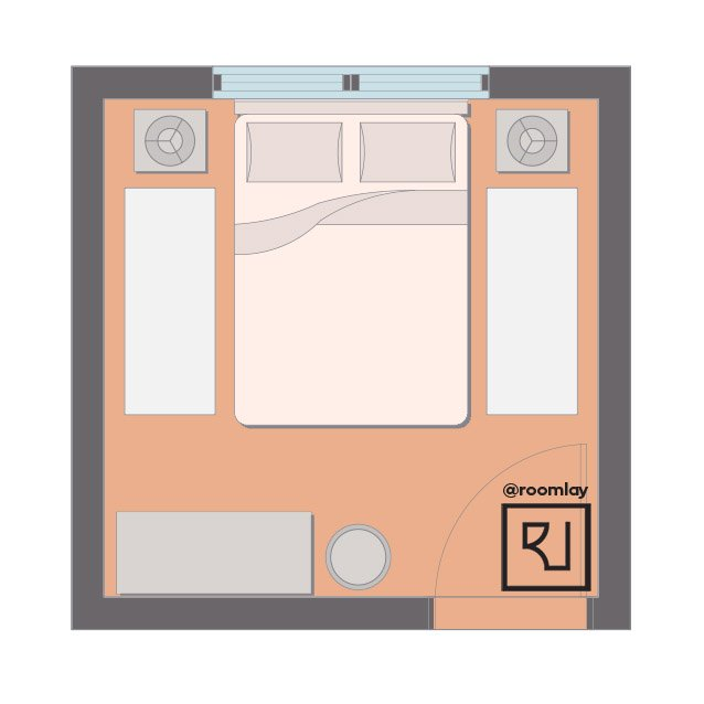 10ft by 10ft bedroom layout