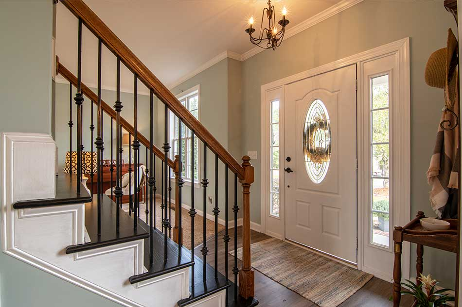 feng shui rules for stairways