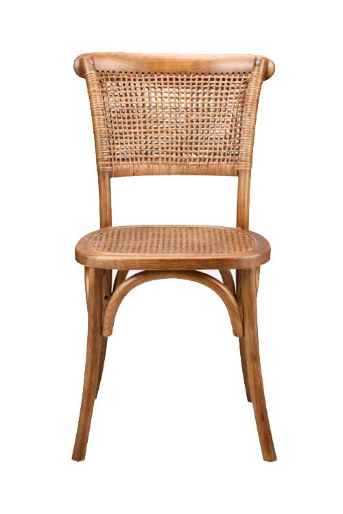 Eclectic boho style dining chair