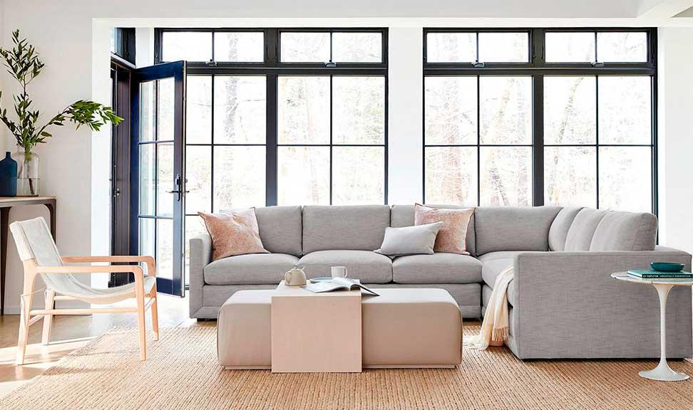 Living room seating arrangement example.