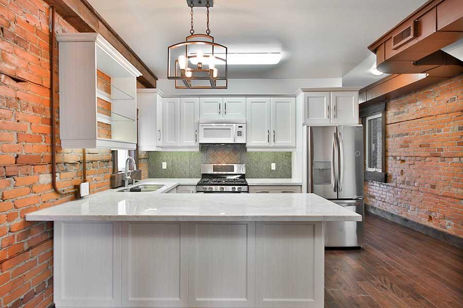 Peninsula kitchen example
